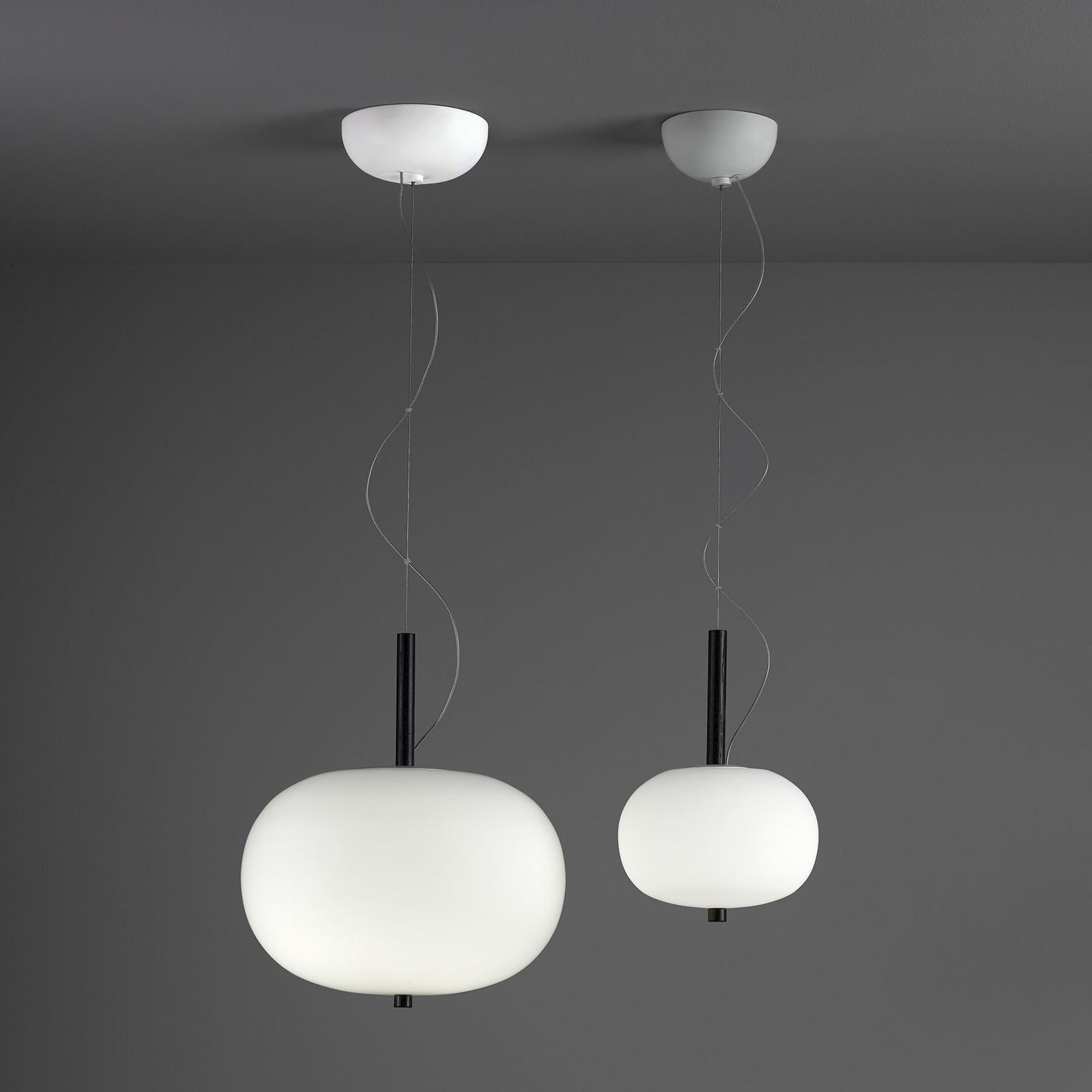 Grok Ilargi LED hanglamp Phase donker Ø 39,5 cm