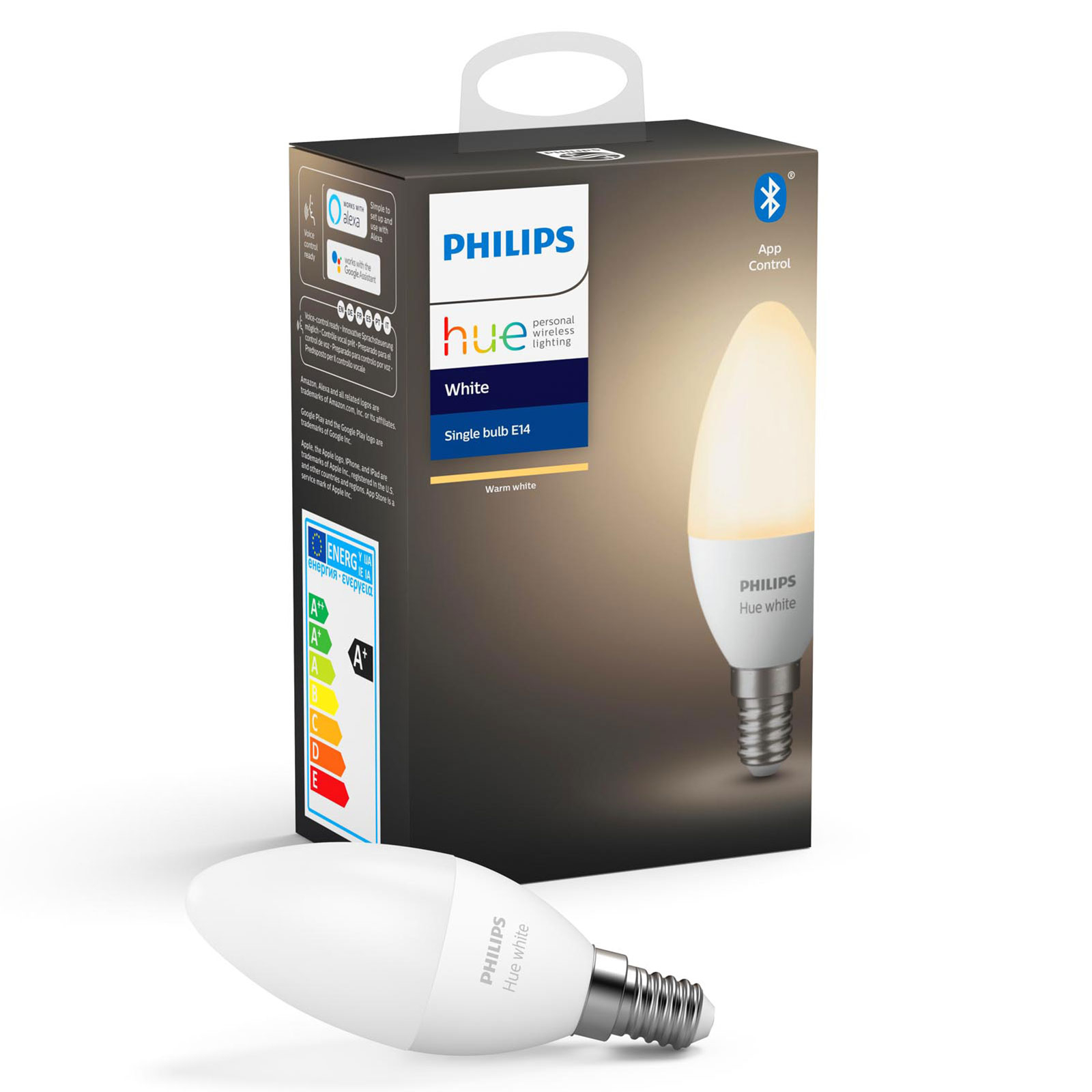 Philips HueWhite 5,5W E14 ampoule flamme LED