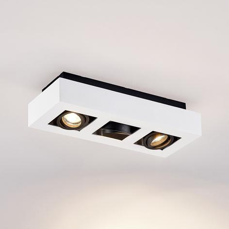 Arcchio Vince taklampe 36x14cm hvit