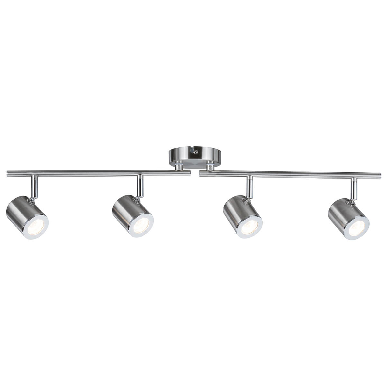 Tumbler - 4-punktowa lampa sufitowa niklowana