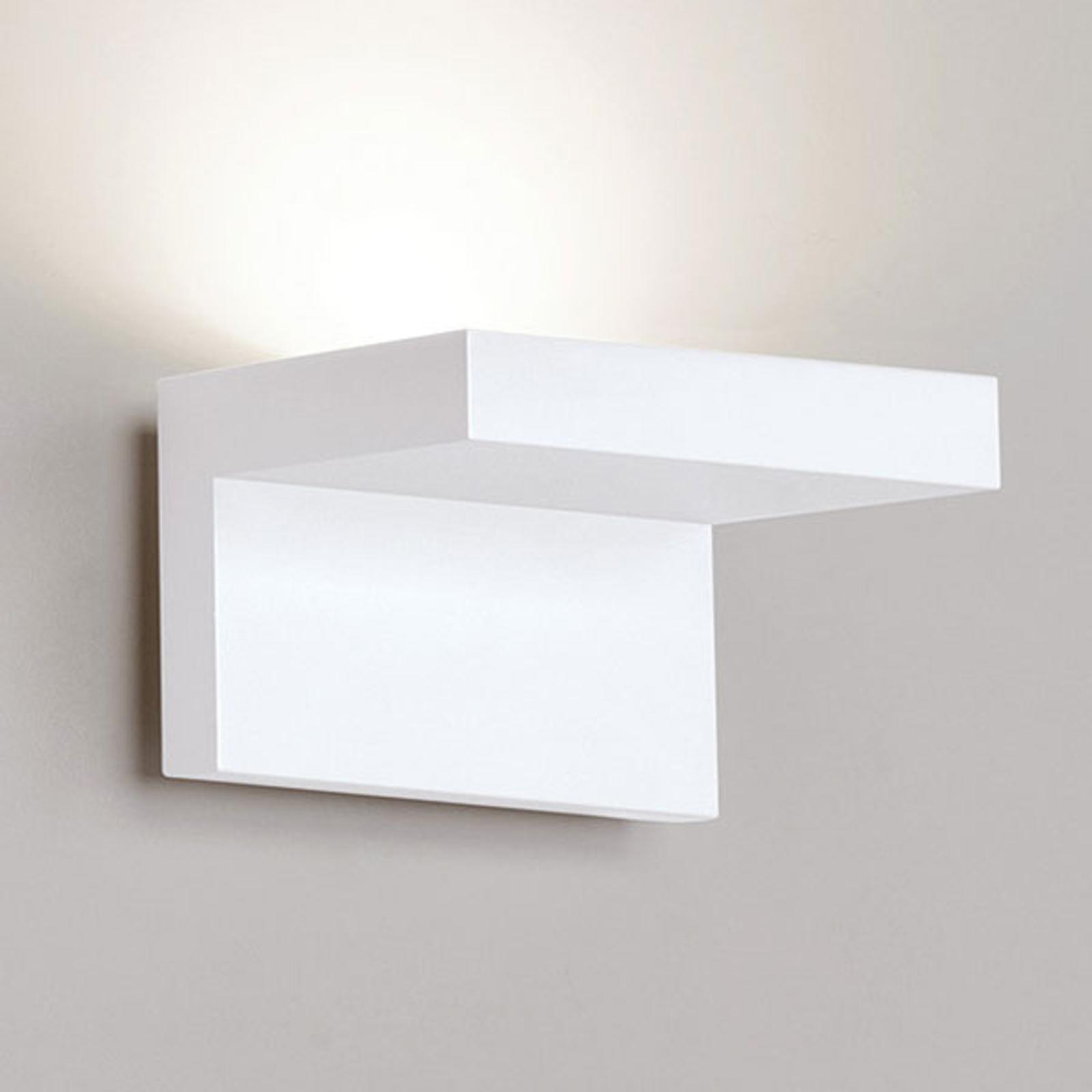 Rotaliana Step - weiße LED-Wandleuchte, 12 cm