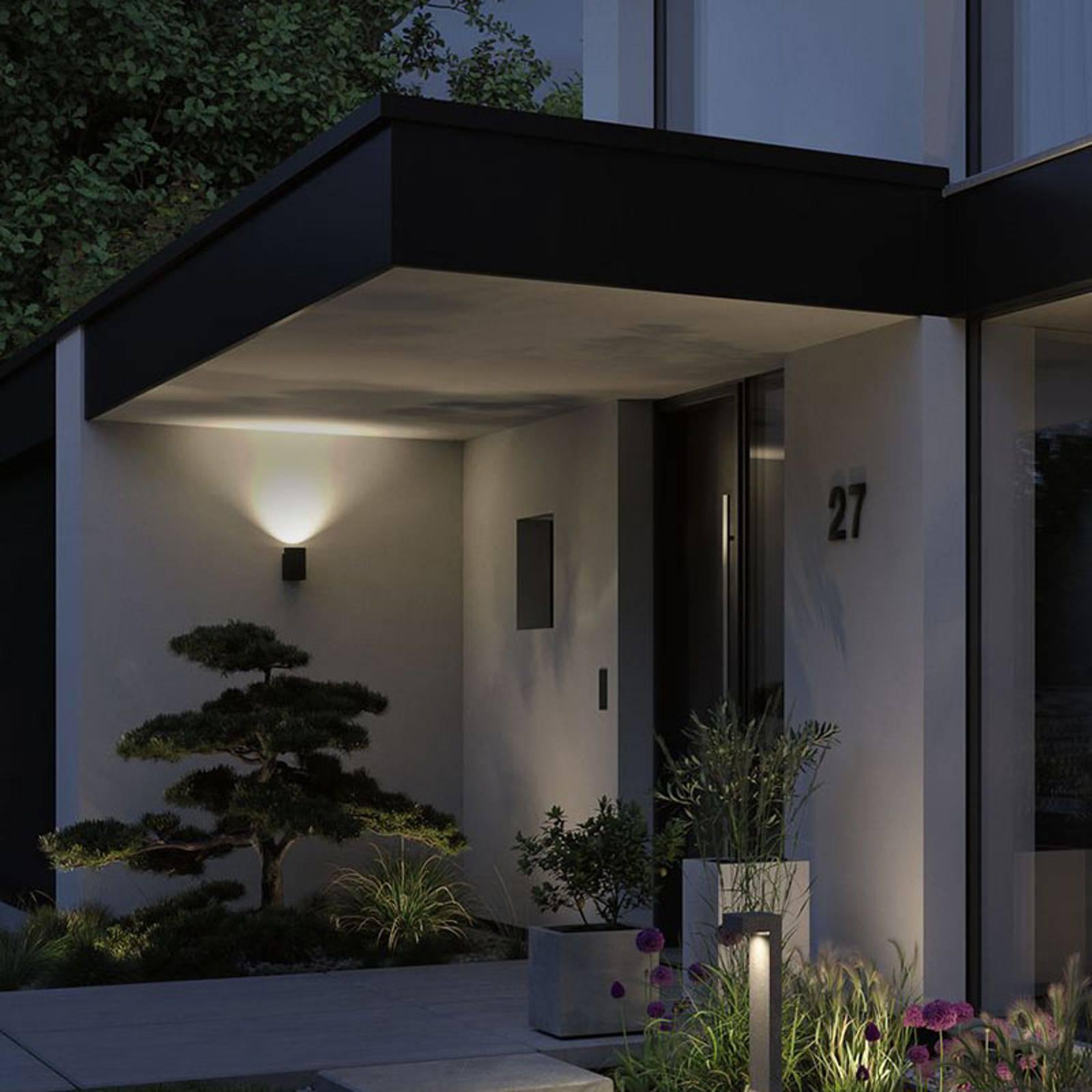Paulmann Concrea LED buitenwandlamp, cilindrisch