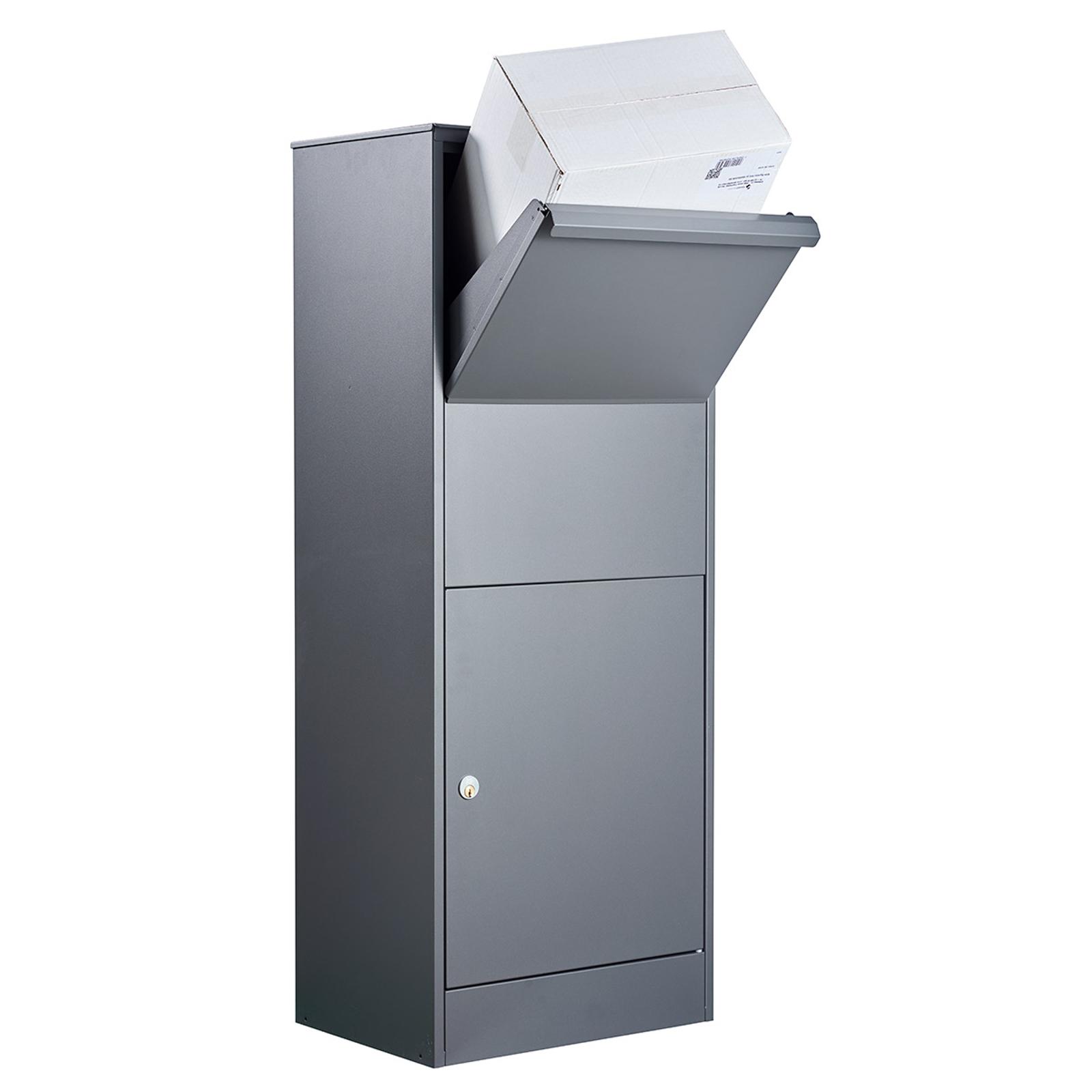 Standbriefkasten Allux 800S-L in Schwarz