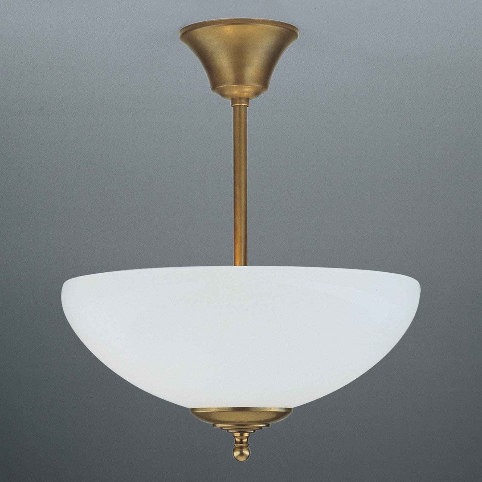 Ručně vyrobené stropní světlo ANNI, mosaz