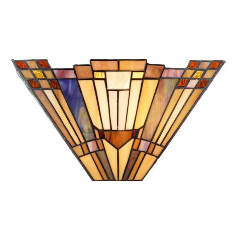 I Tiffany stil designet væglampe Esmea