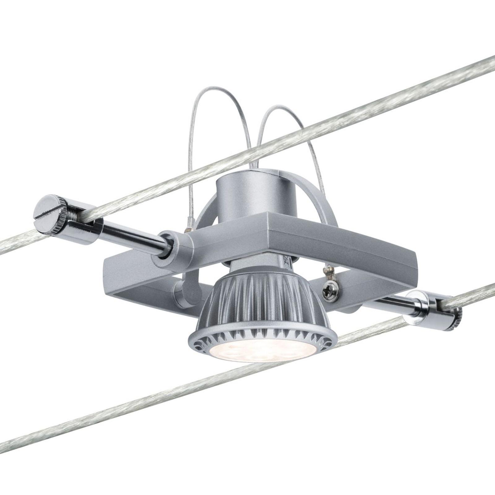 Paulmann Mac II Spot für Seilsystem, chrom matt