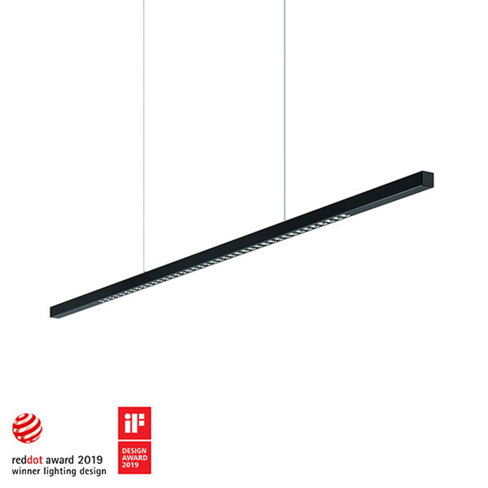 Zumtobel Linetik LED-Hängeleuchte schwarz 4.000K
