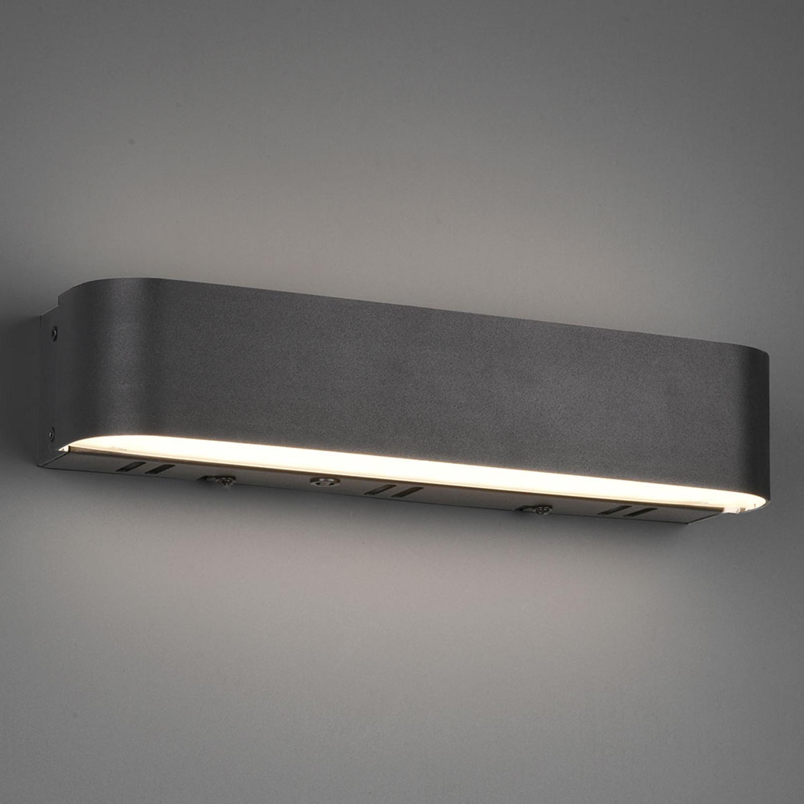 Trio WiZ Adriana LED wandlamp, mat zwart