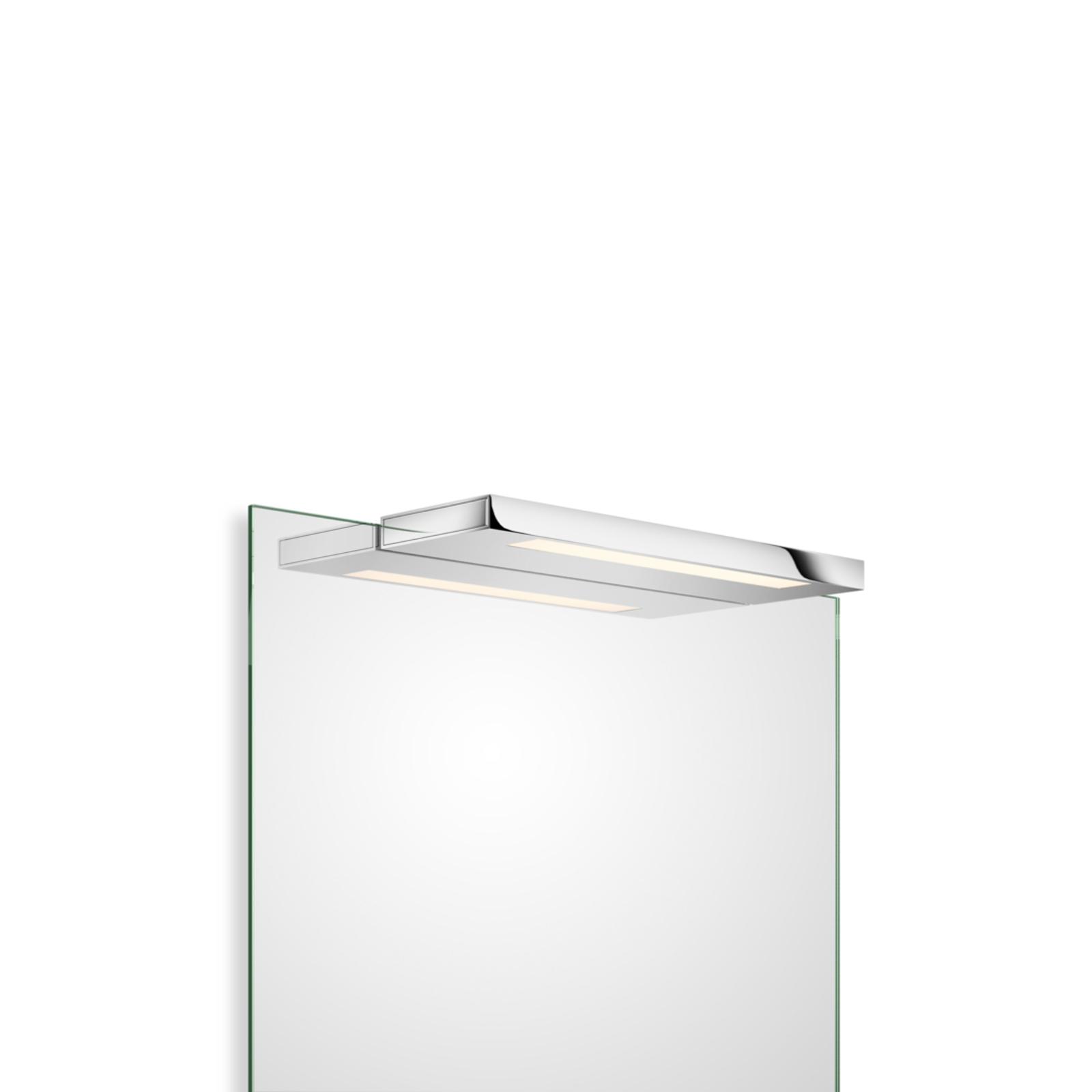 Decor Walther Slim applique miroir LED chromé 34cm