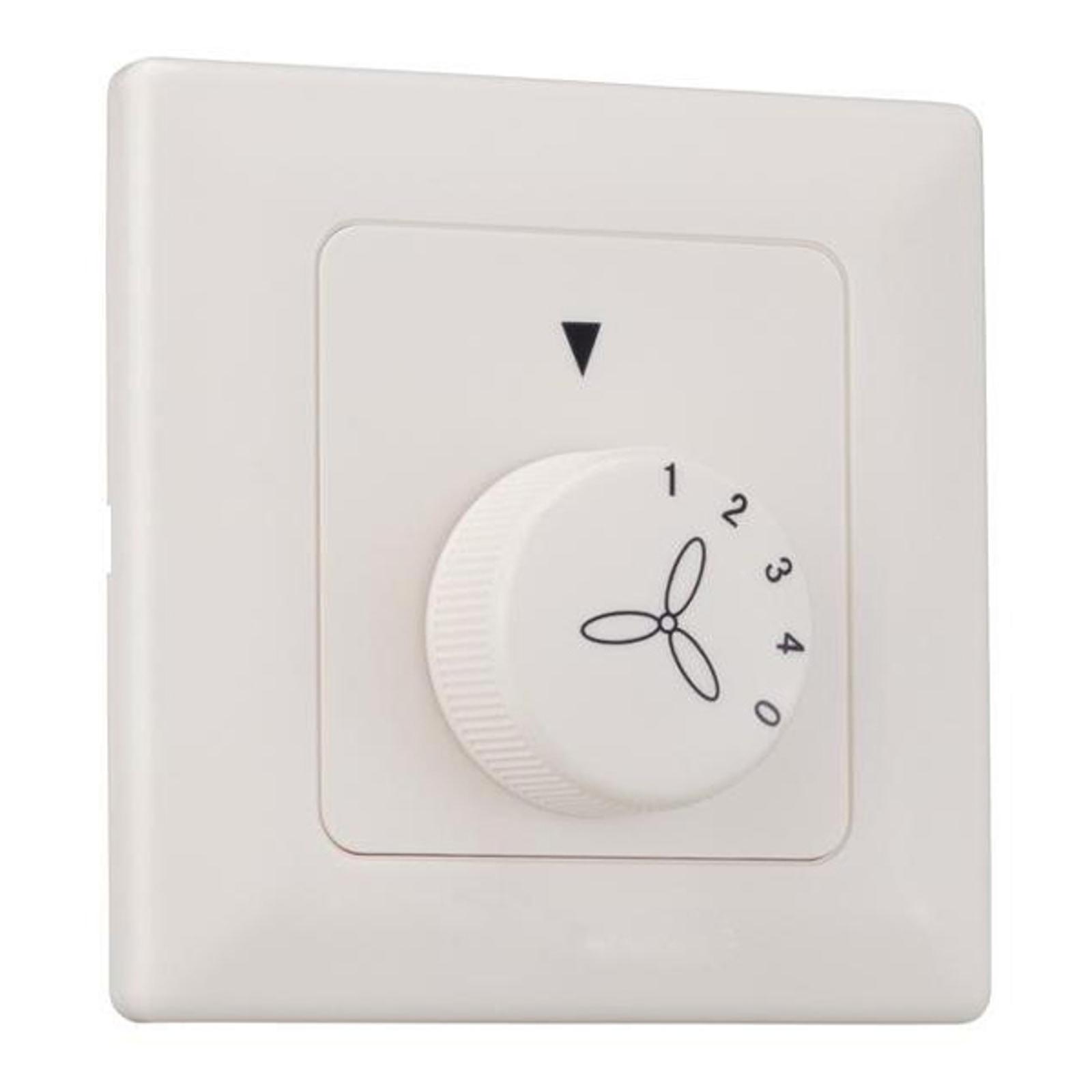 Westinghouse vægkontakt til ventilatorer, 4 trin