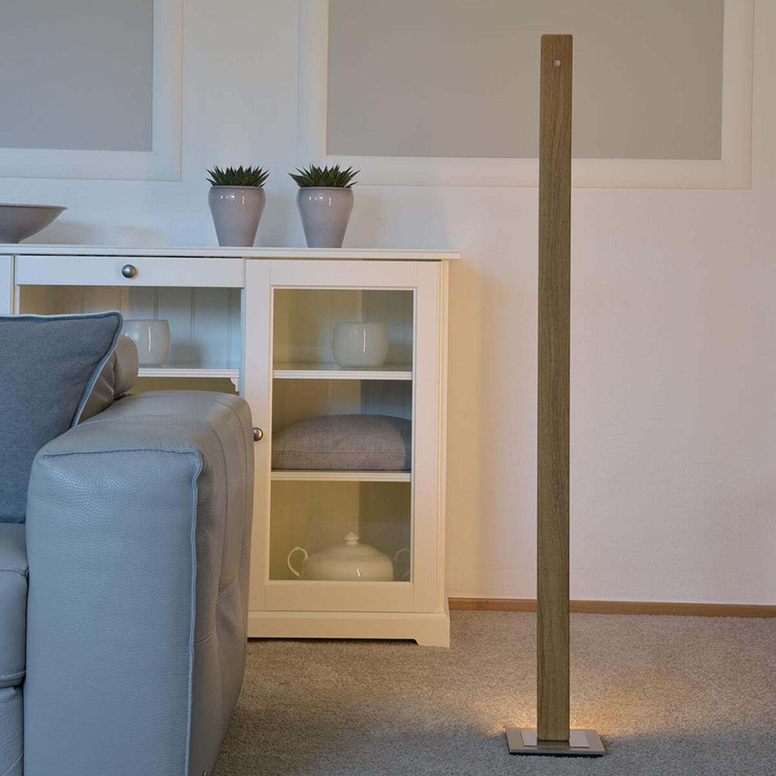 HerzBlut Leonora lampa stojąca LED 122,5cm dąb