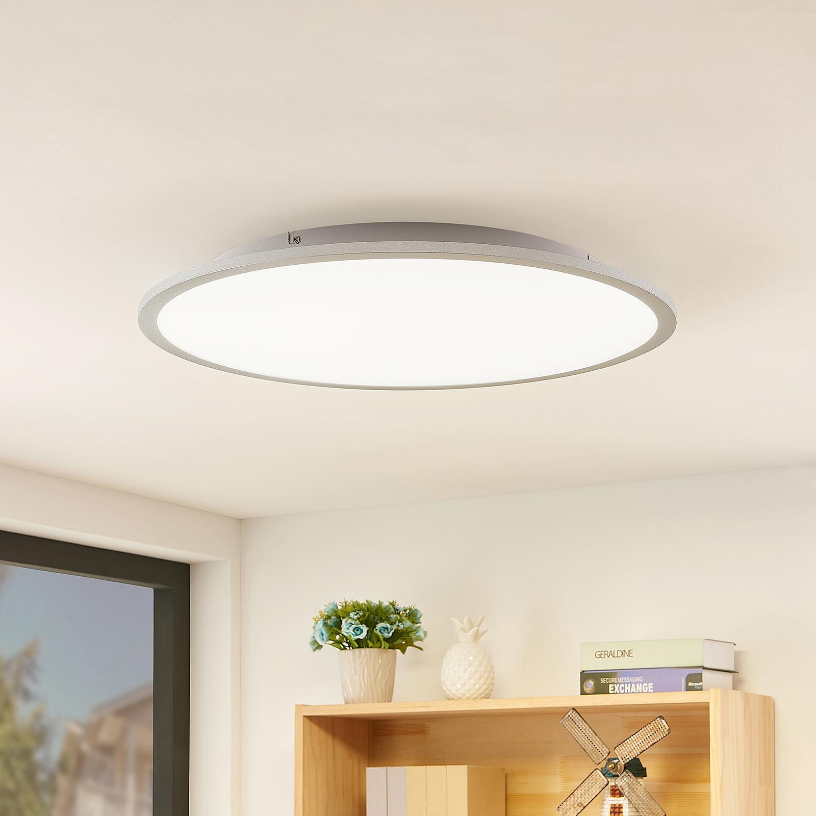 Lindby Narima lampa sufitowa LED, CCT, Ø 60 cm