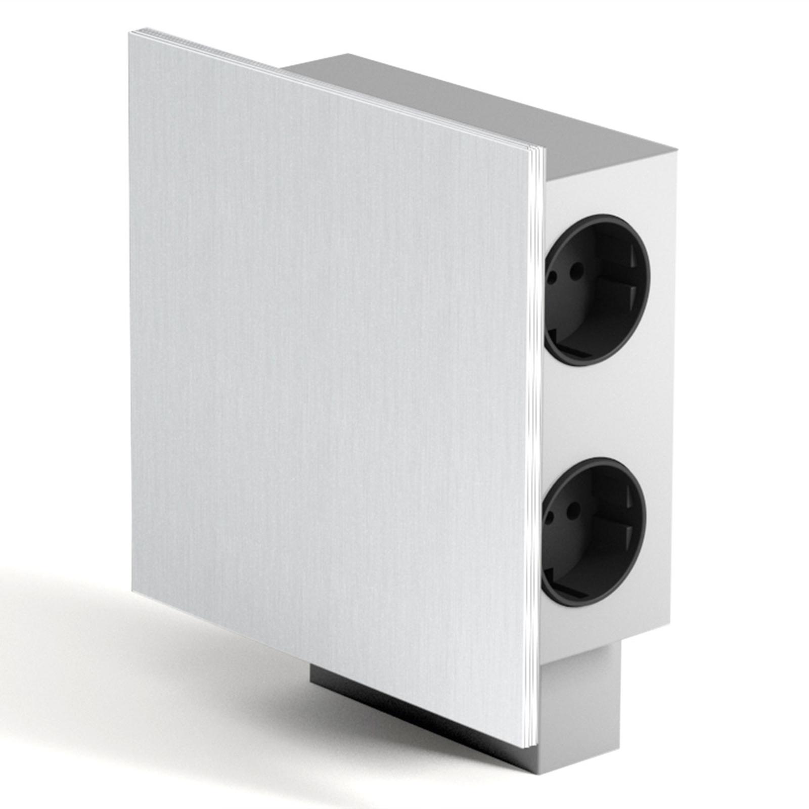 Energiboks Power 3 stikkontakter 2 USB-innganger