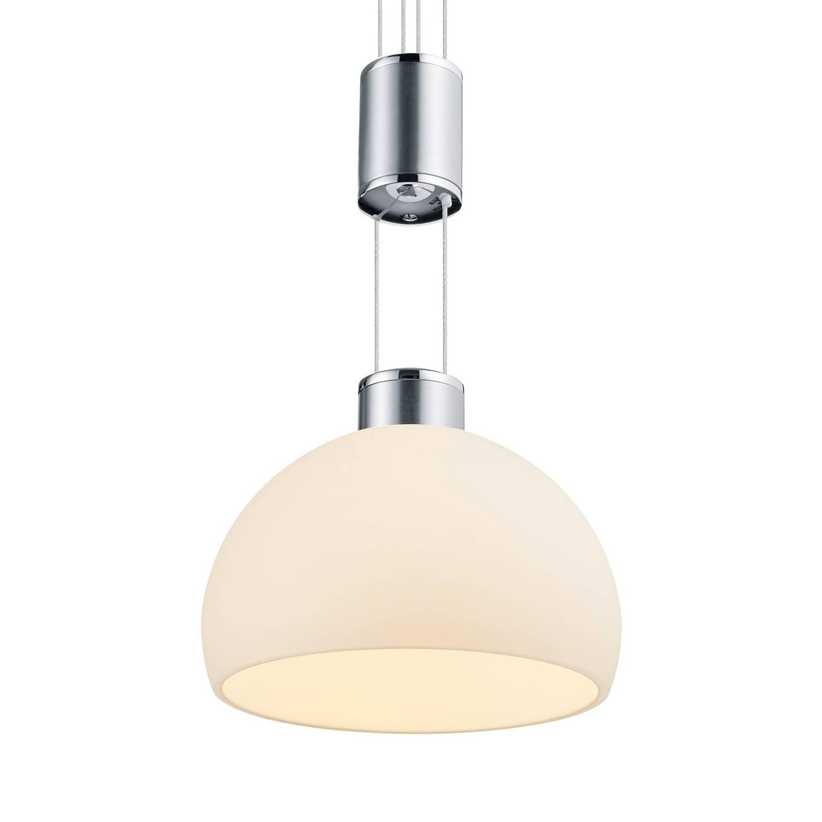 BANKAMP Meesterwerk hanglamp 3-lamps nikkel