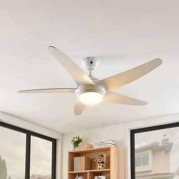 Lindby Ranja ventilador de techo con LED
