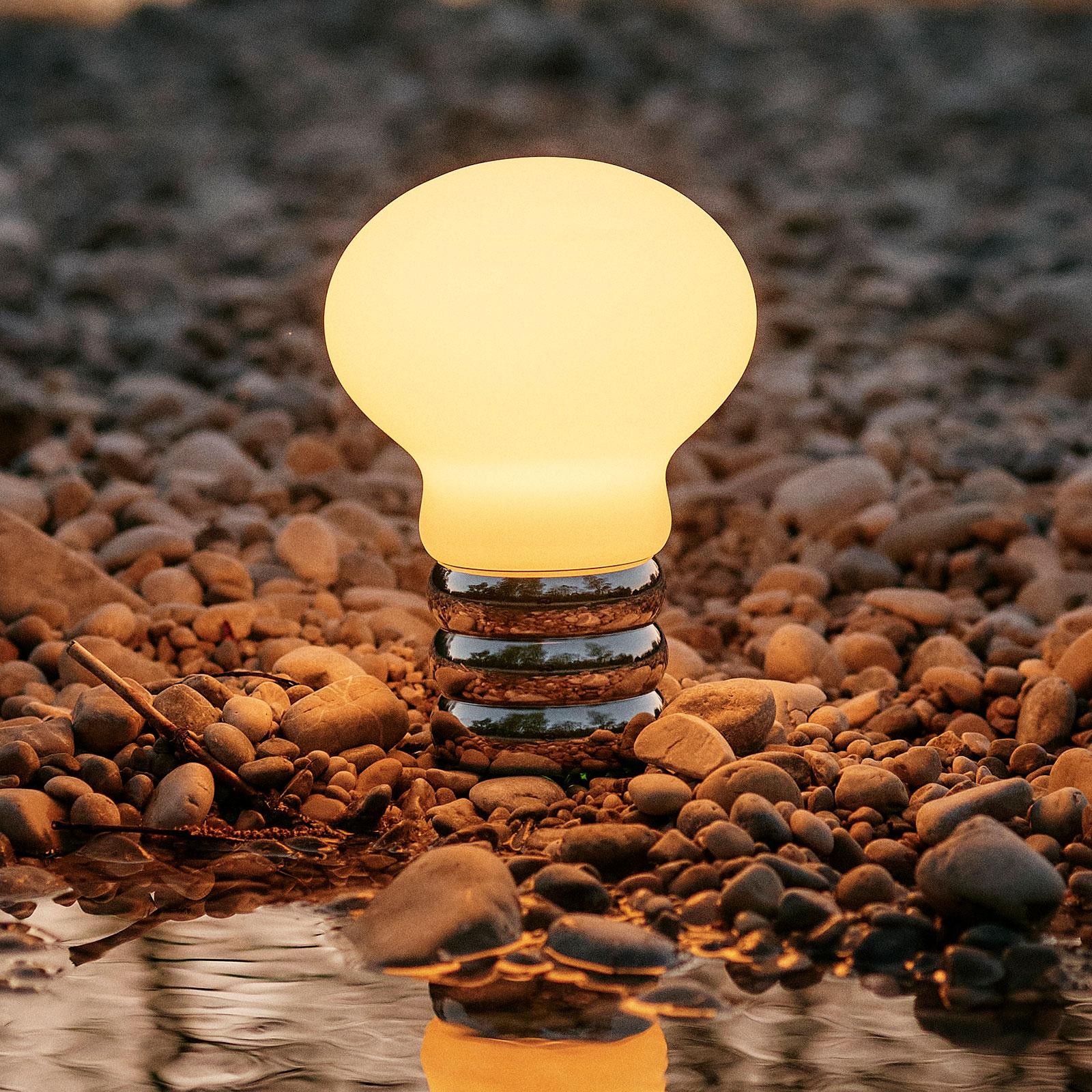 Ingo Maurer B.Bulb LED-bordlampe med batteri