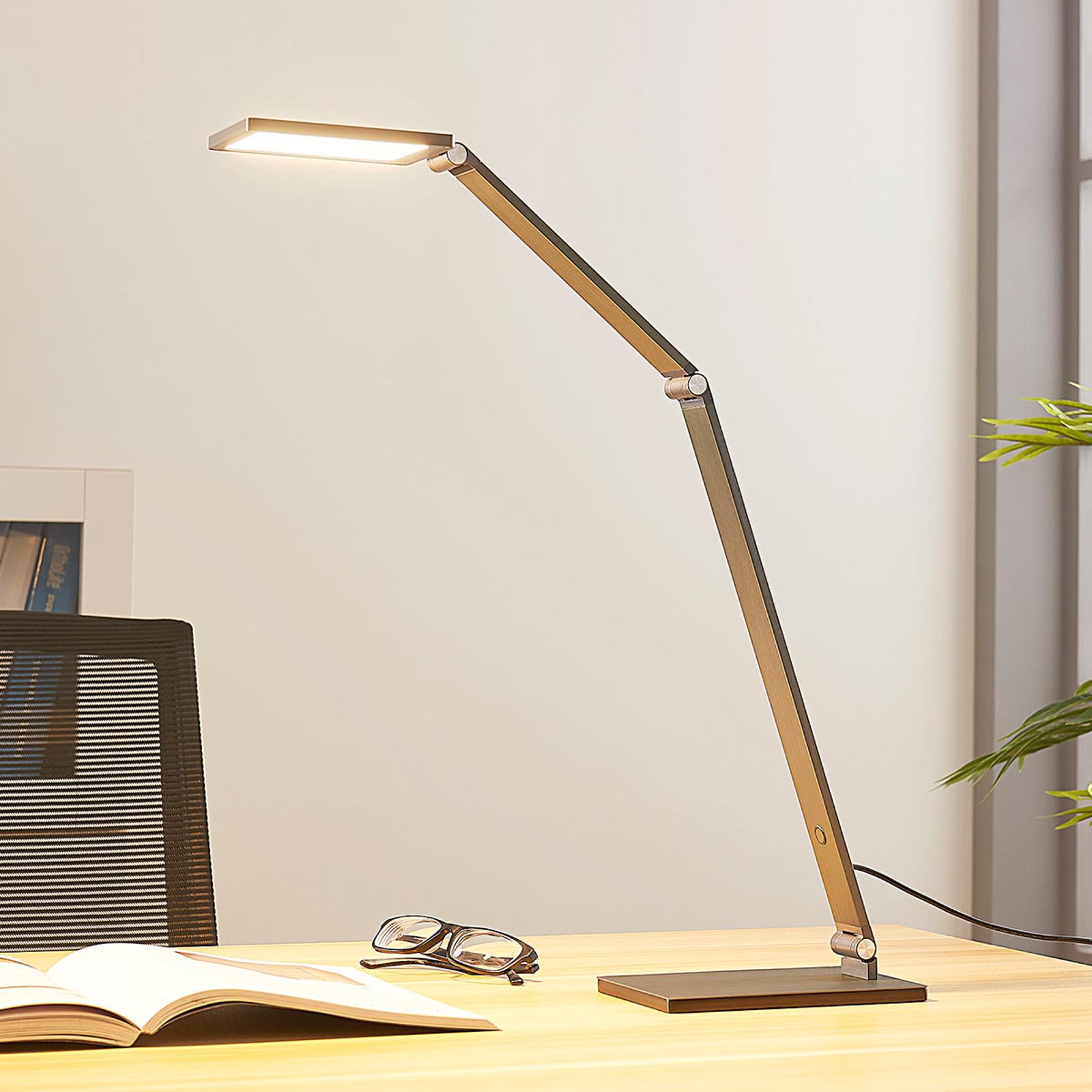 Stmívatelná LED lampa na psací stůl Mion