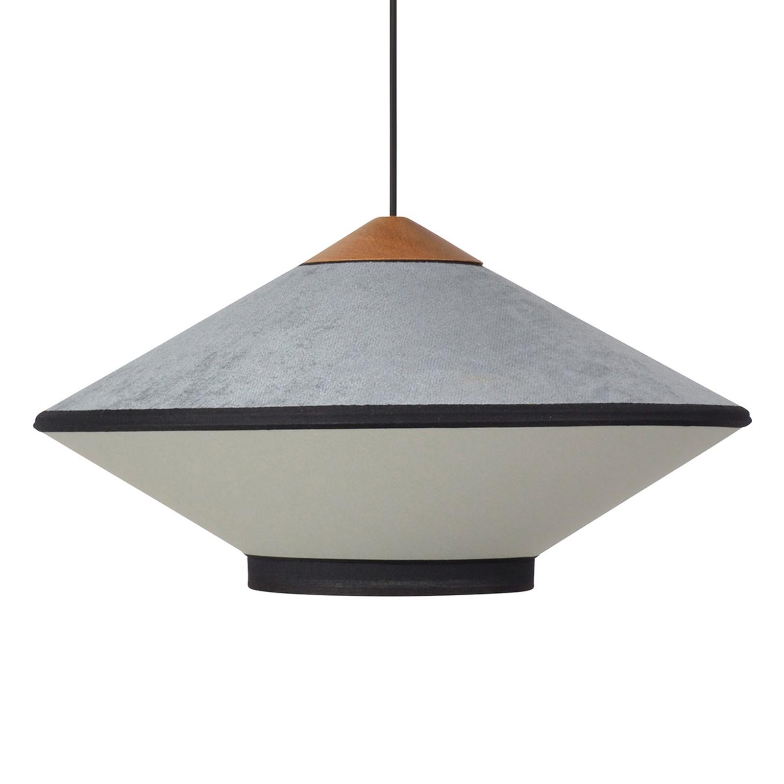 Forestier Cymbal S lampa wisząca 50cm błękitna