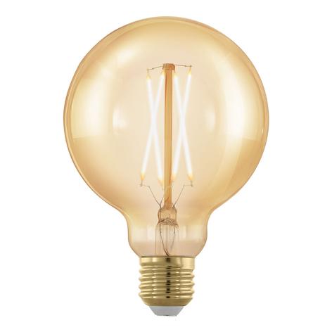E27 G95 4W 1.700 K lampadina globe oro dimmerabile