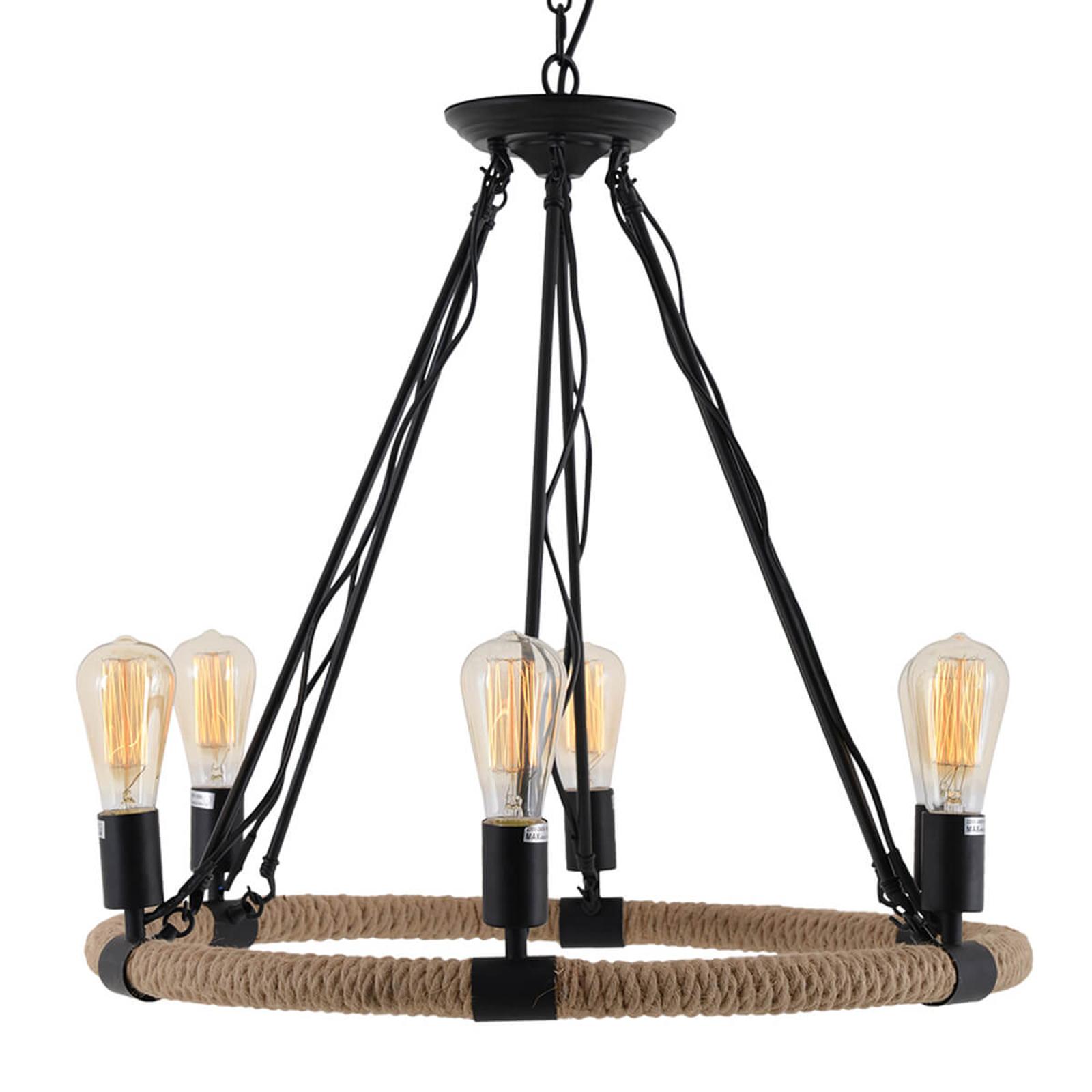 Ina – lampa wisząca o antycznym designie