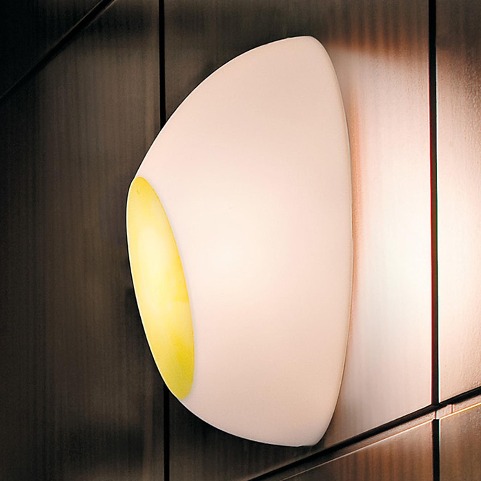 Luceplan Goggle wandlamp m. iriserend effect