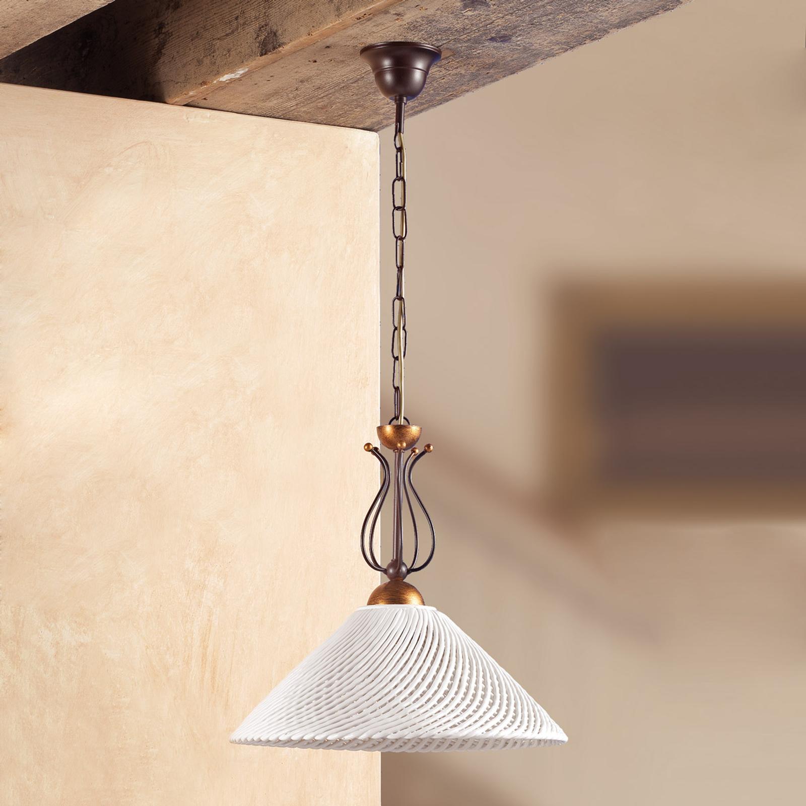 Elegante lampada a sospensione RETINA