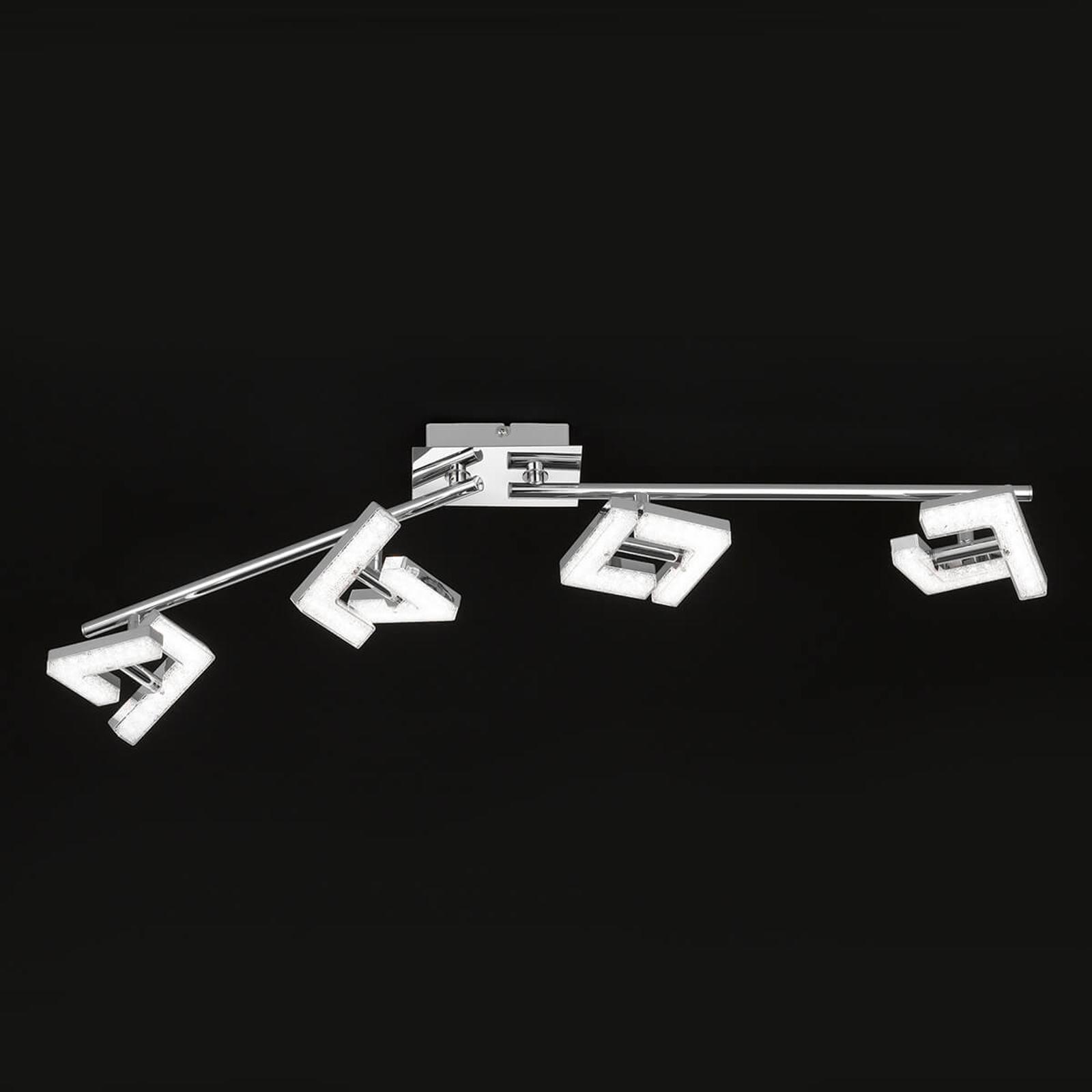 Mehrfach verstellbare LED-Deckenleuchte Lea