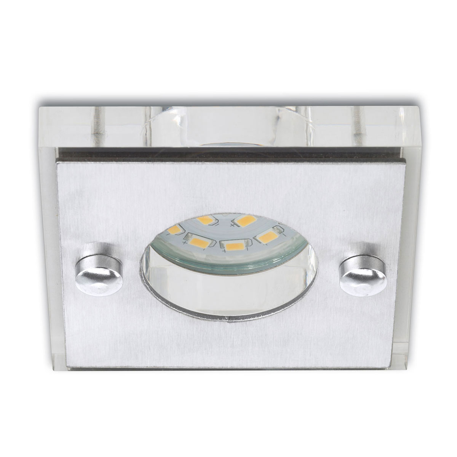 Square - LED recessed light Nikas, matt nickel_1510271_1