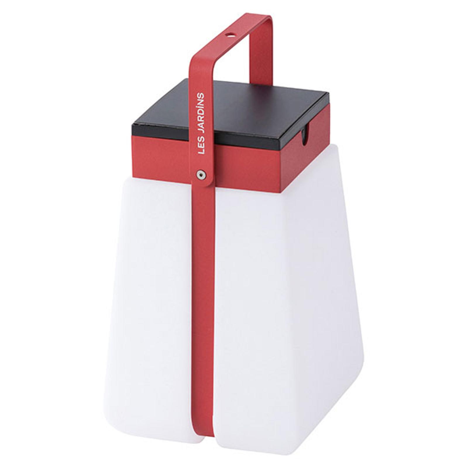 LED-Solarlaterne Bump 300 tragbar, rot
