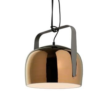 Karman Bag - pendellampa, 21 cm, brons