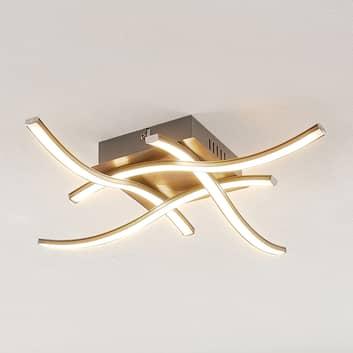 ELC Agostina lámpara LED de techo, níquel