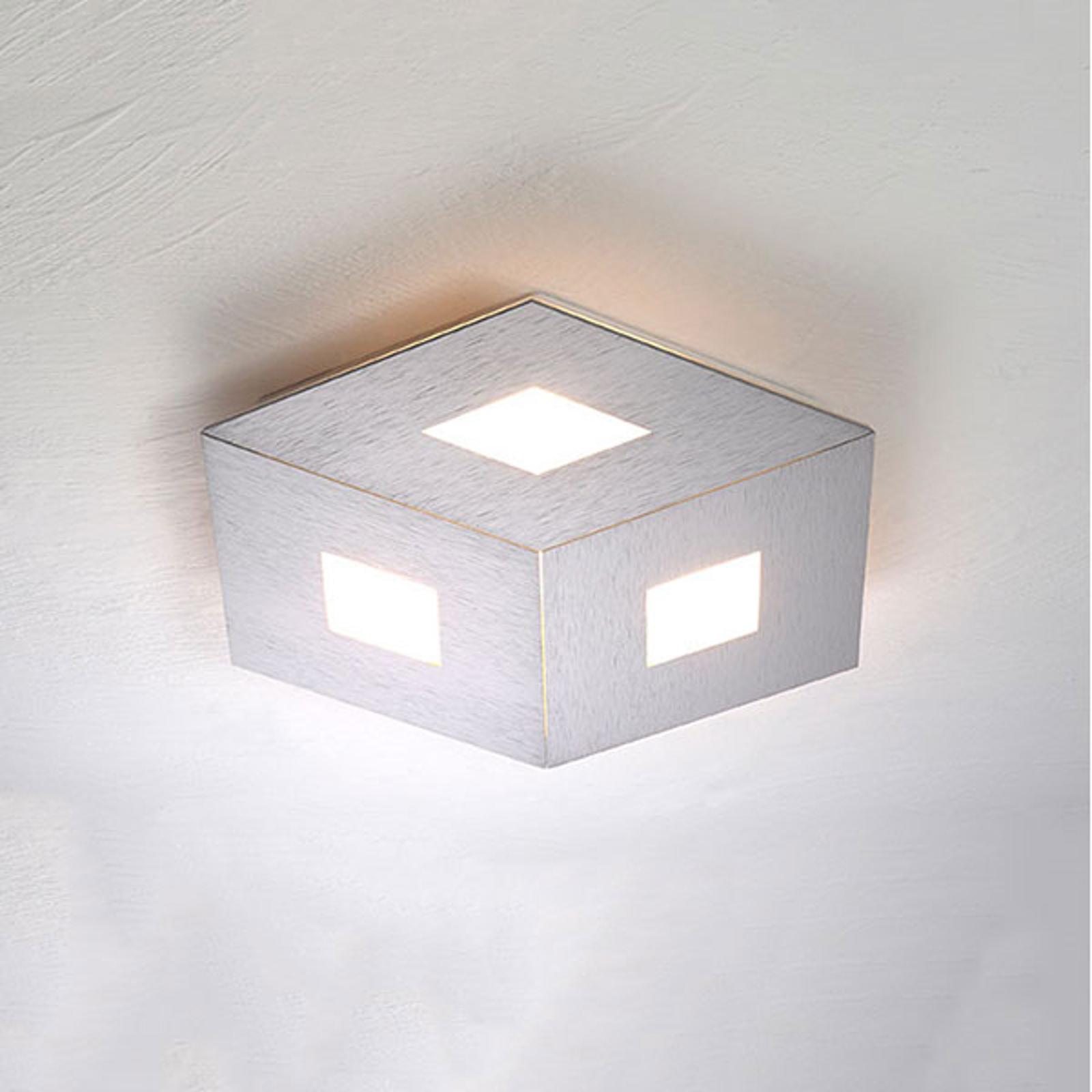 Bopp Box Comfort LED-taklampe sølv 35cm