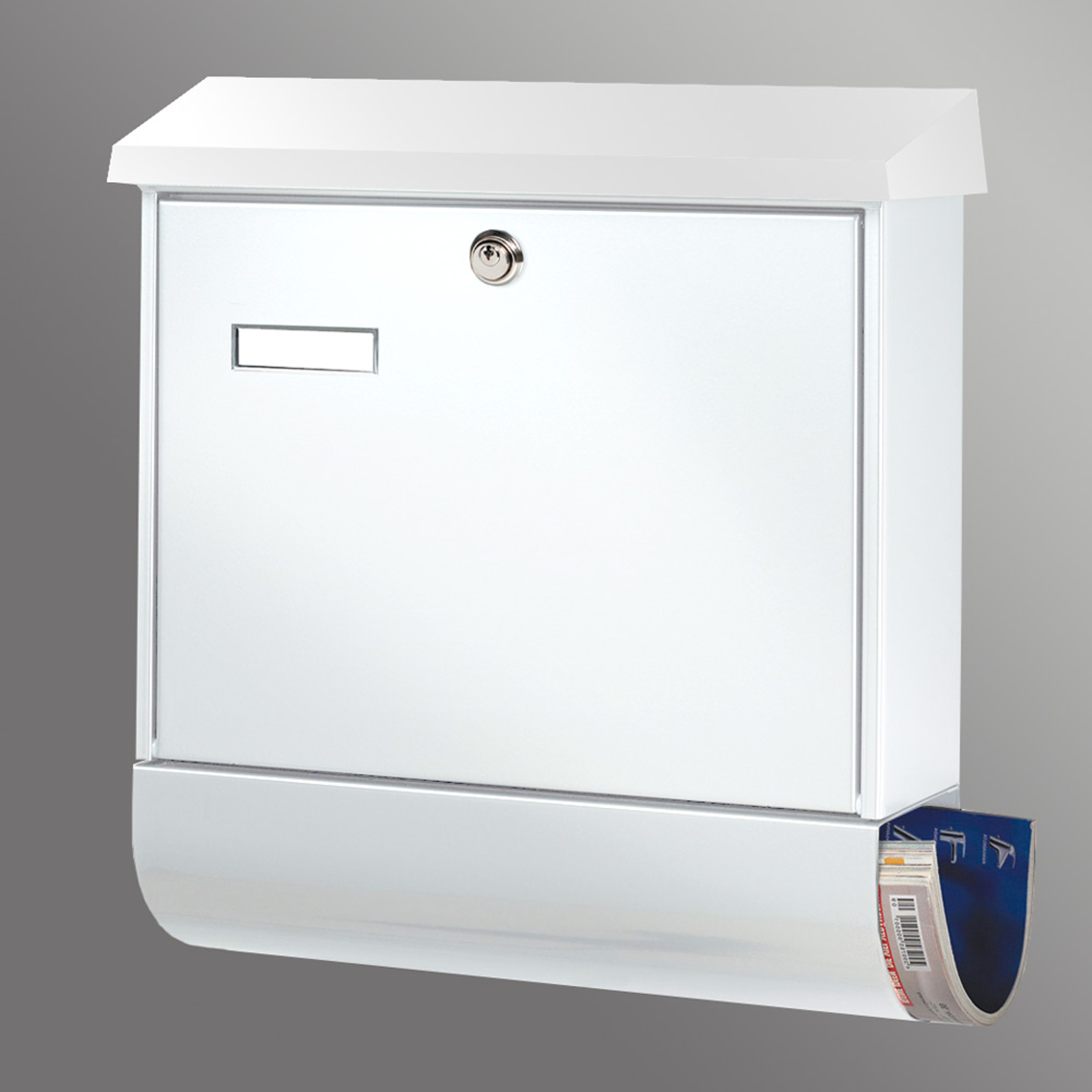 Oblíbená poštovní schránka Set Vario, bílá