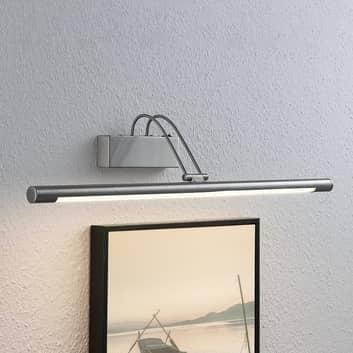 LED-bildlampa Mailine med omkopplare, nickel