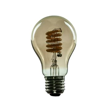 SEGULA LED-lamppu E27 8W Curved ambient savu