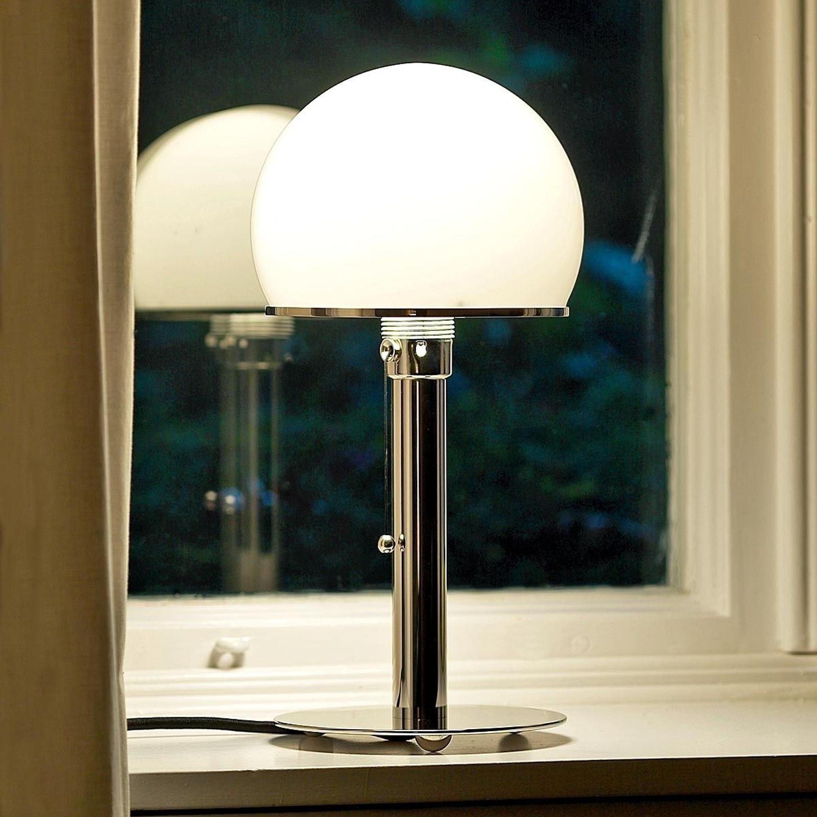 TECNOLUMEN Wagenfeld lampada da tavolo WA 24