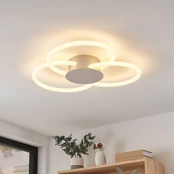 Lucande Clasa lámpara LED de techo, 3 luces