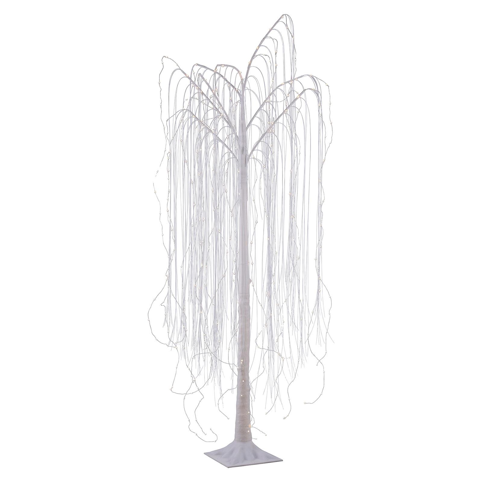 LED-dekorationslampa Willow, IP44, höjd 210 cm