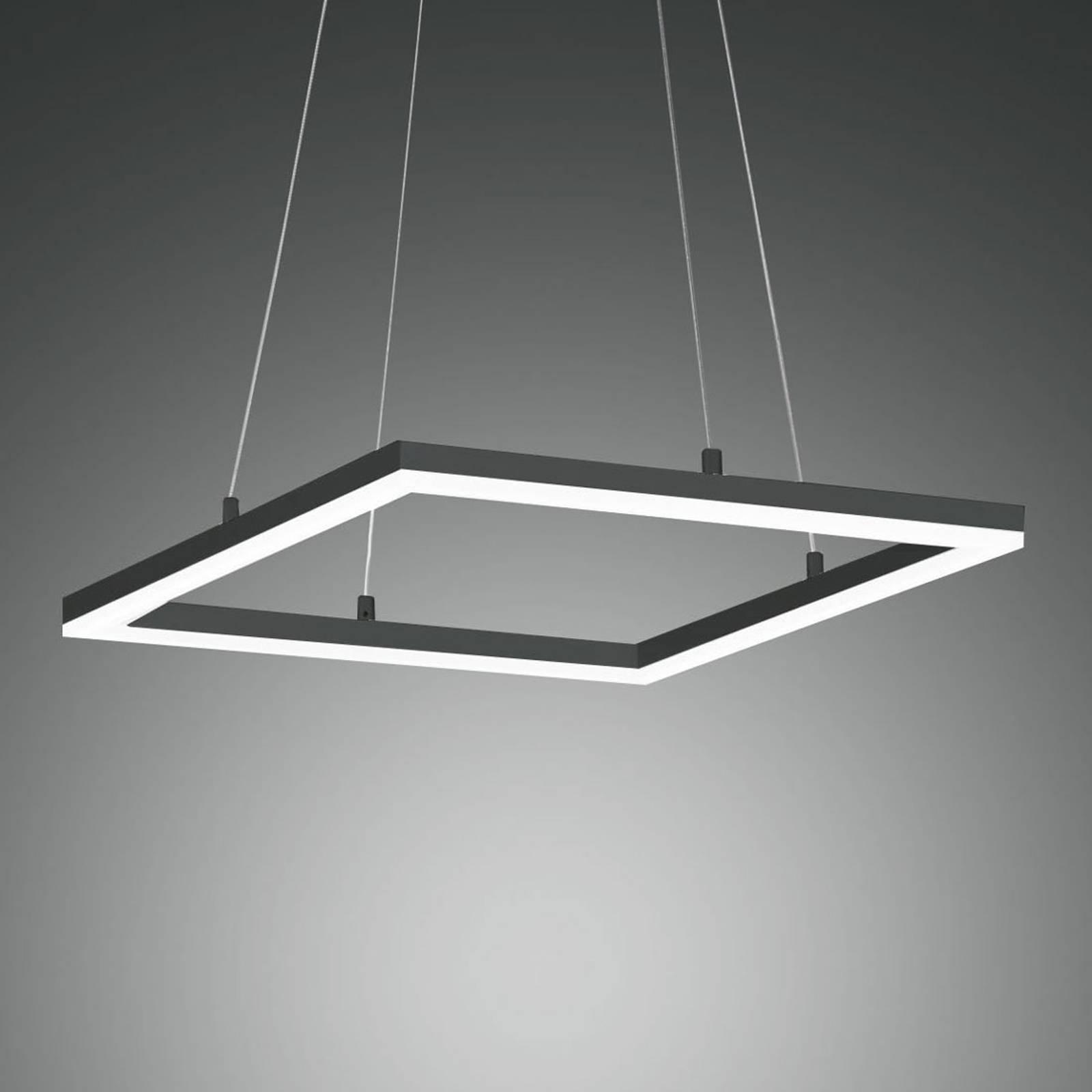Lampa wisząca LED Bard 42x42, antracyt