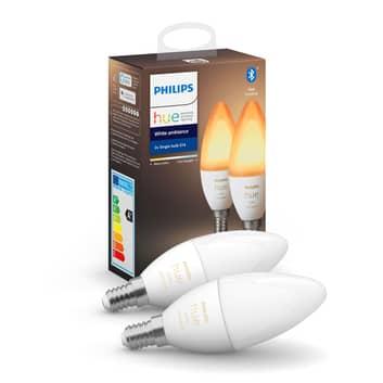 Philips Hue świeczka White Ambiance 2x E14 5,2W