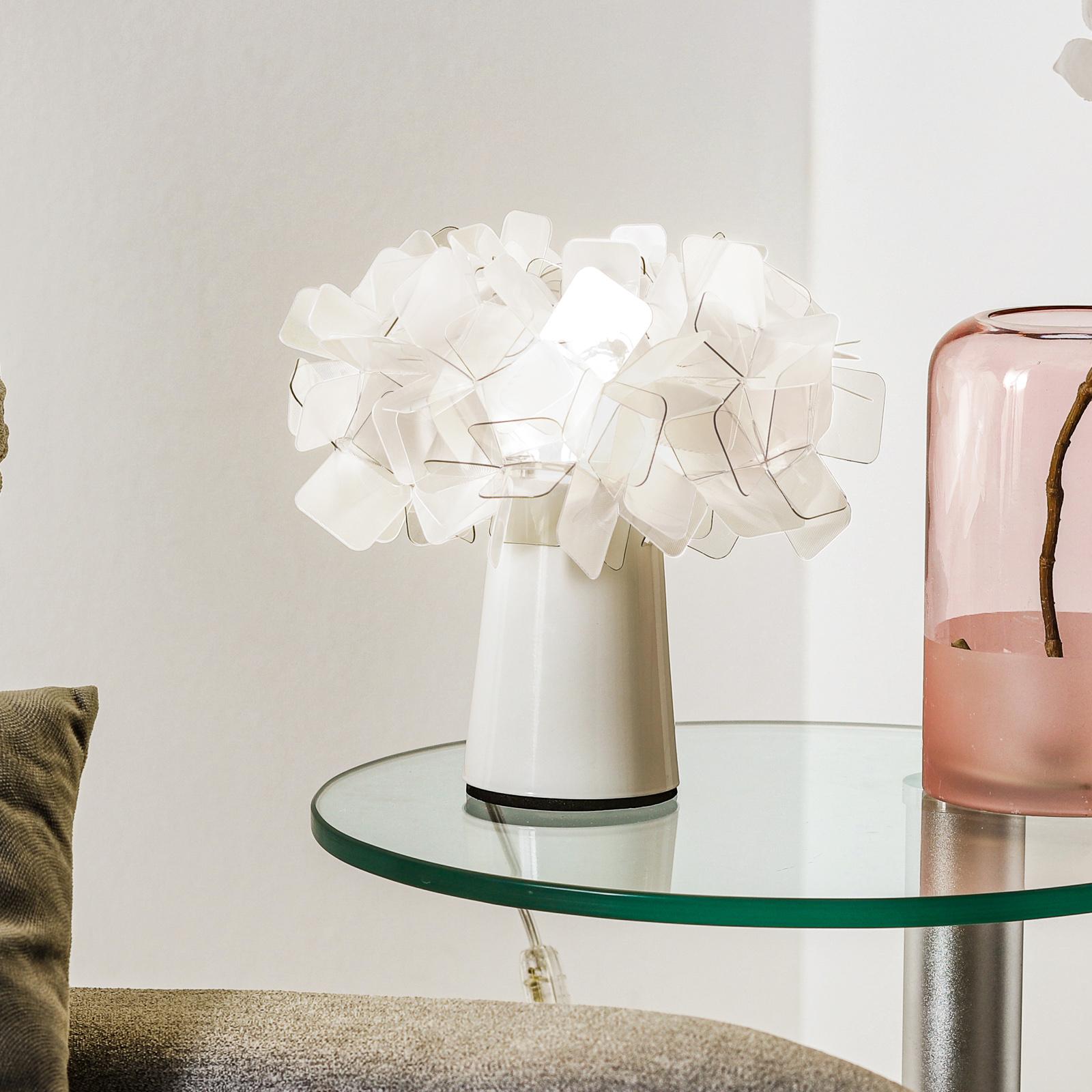 Slamp Clizia - Design-Tischleuchte, rauchgrau