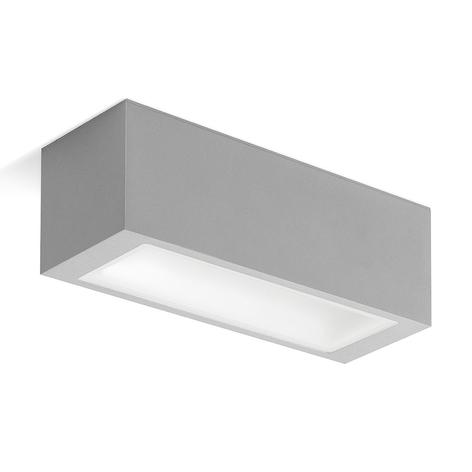 LED-Wandlampe 3035 Optik assymetrisch mittel