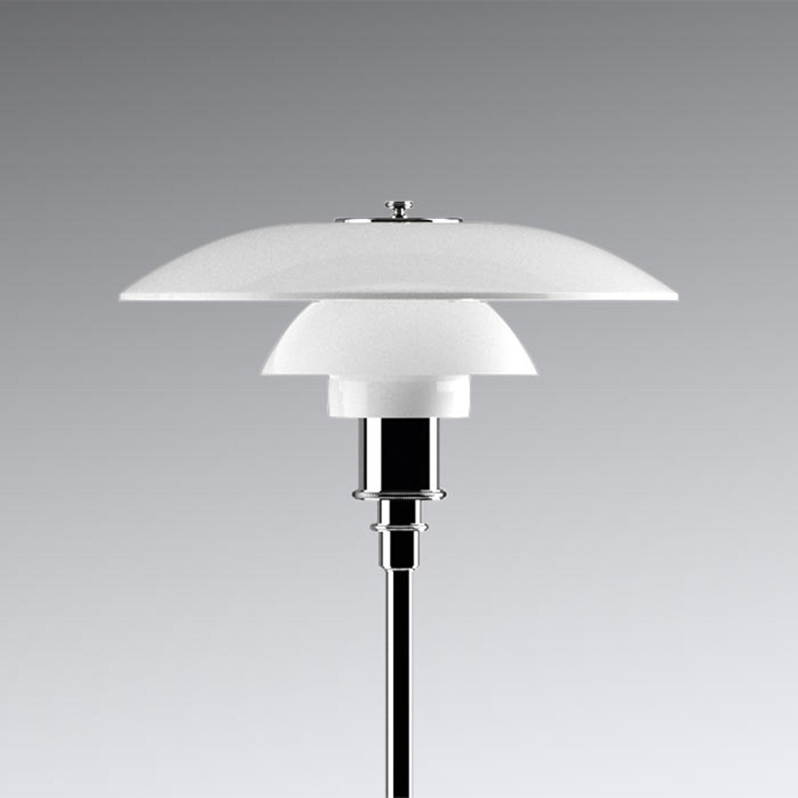 Louis Poulsen PH 3 1/2-2 1/2 Stehlampe verchromt