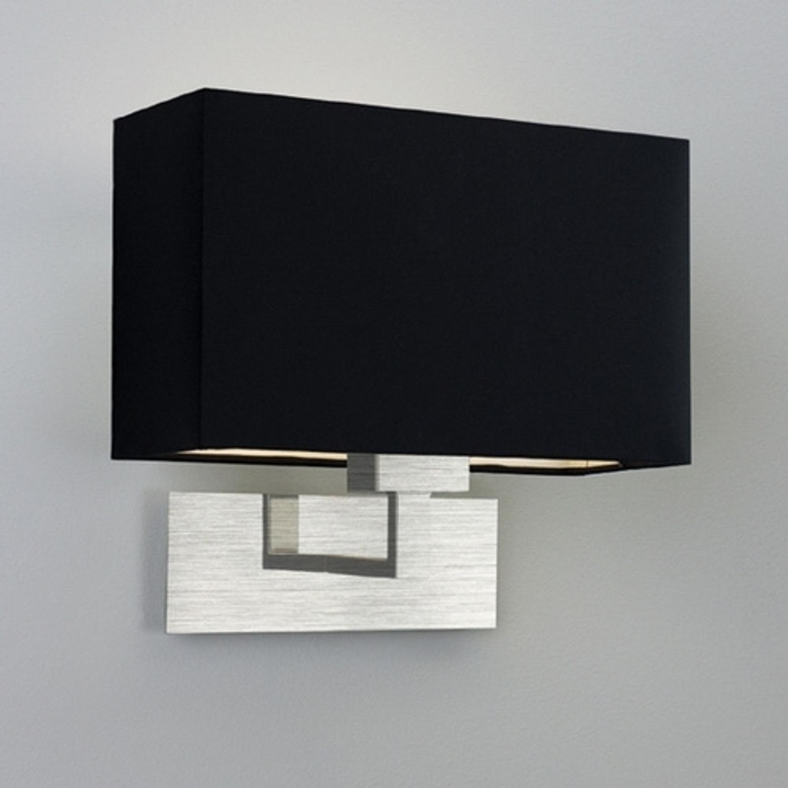 Elegante wandlamp PARK LANE GRANDE, zwart