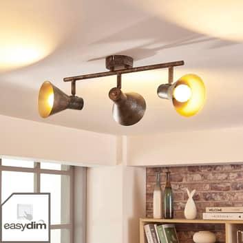 Zera - aflang LED loftlampe med easydim-pærer