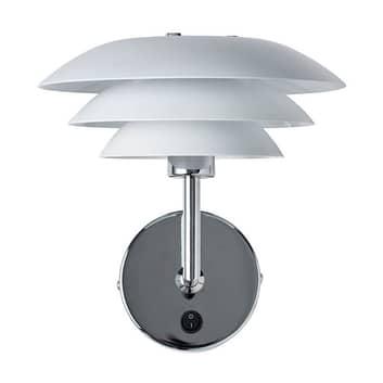 Dyberg Larsen DL20 væglampe, metal, 20cm