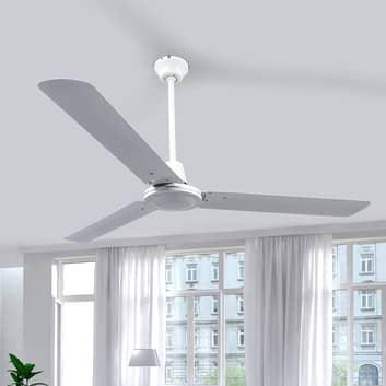 Bílý stropní ventilátor Dawinja se třemi vrtulemi