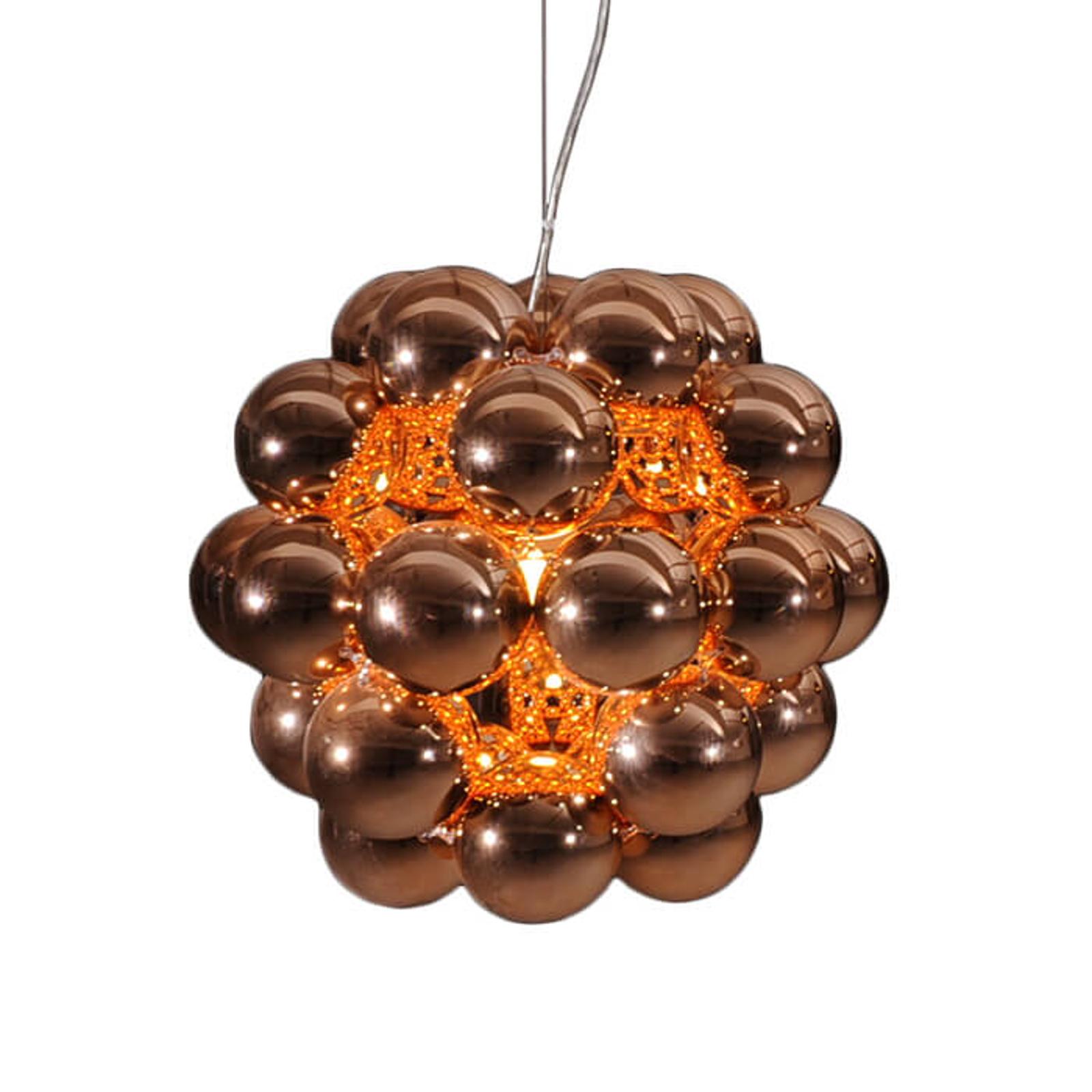 Innermost Beads Penta - hængelampe i kobber