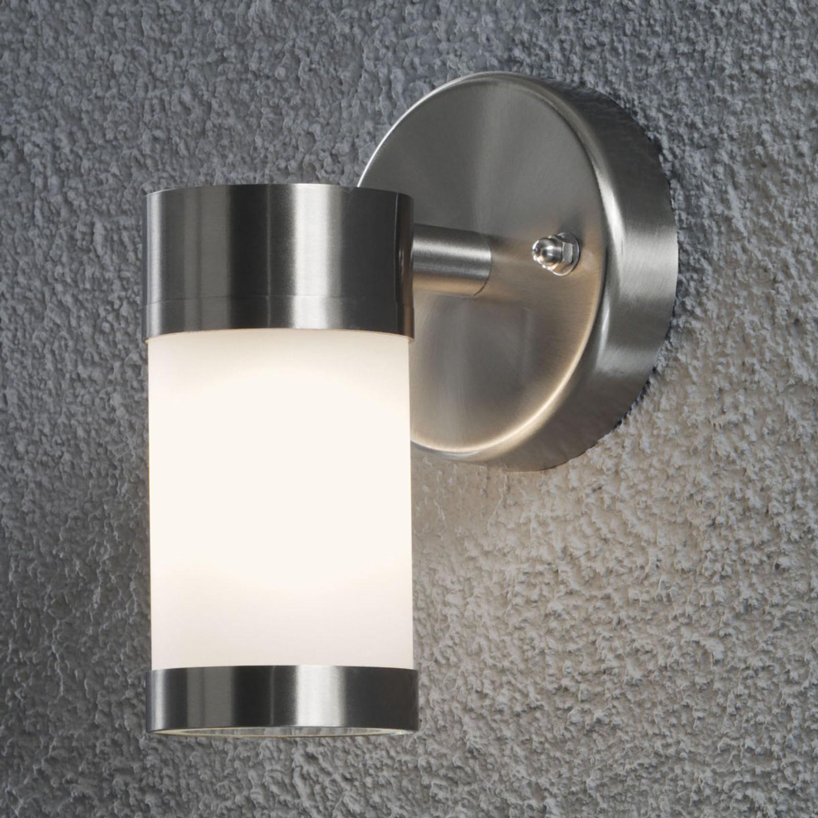 Prosta zewnętrzna lampa ścienna MODENA, 1-punktowa
