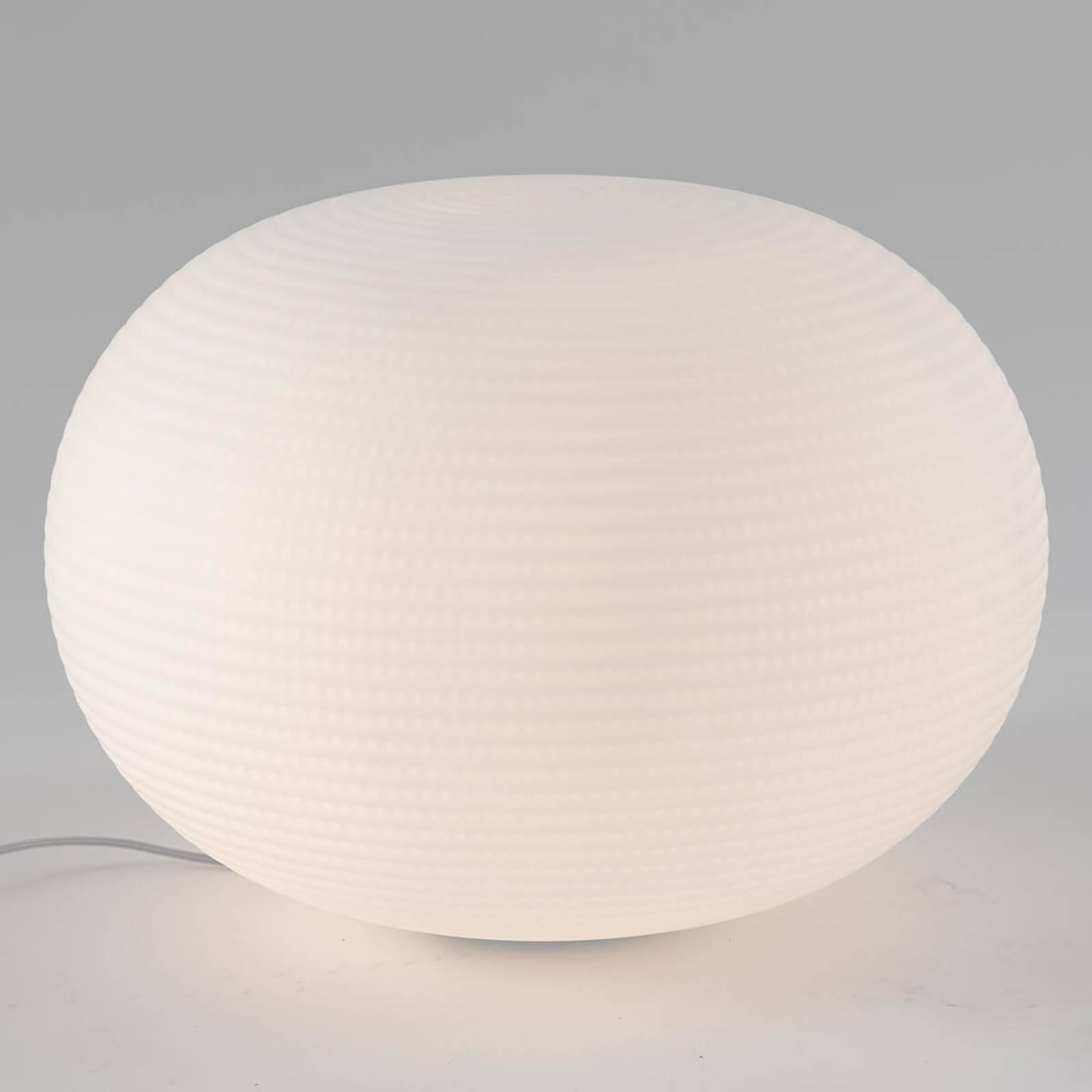Lampe à poser de designer Bianca en verre, 50 cm